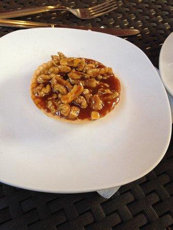 Patisserie Massoulier : Tartelette aux noix
