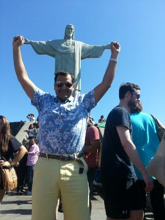 Estatua de Cristo el Redentor: Photo of Cristo Redentor (Statue of Christ the Redeemer) taken with TripAdvisor City Guides