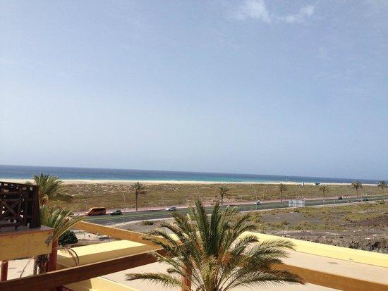 Barcelo Jandia Playa: vue du balcon