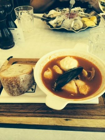 Bonnie Gull Seafood Shack : The Best fish soup ever