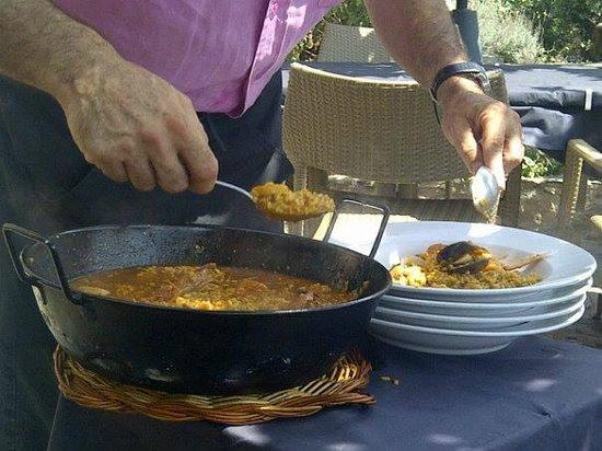 Garimall: Tremendo arroz caldoso