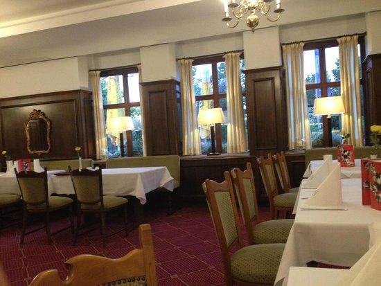 Lobinger Parkhotel: Ресторан