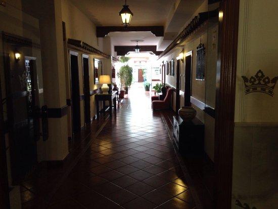 Las Rampas: Pasillos del hotel