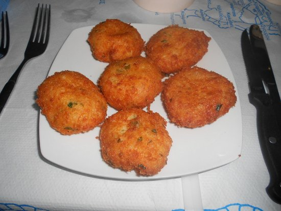 Taverna Manolis: Cheese Balls, da provare