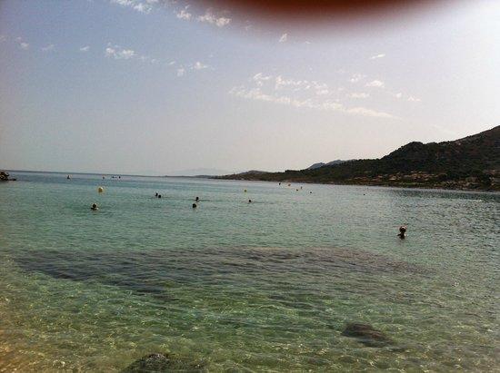 Club Med Sant'Ambroggio: plage hors du club