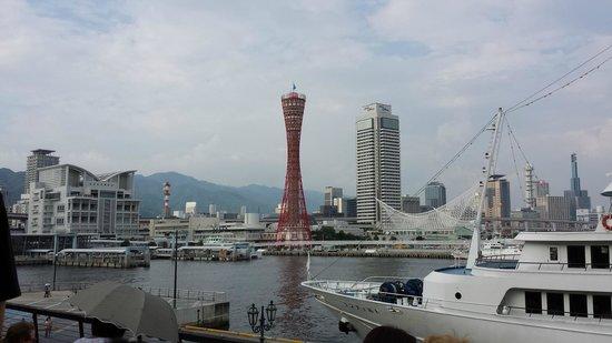 Kobe Harborland: Le port de Kobe vu depuis les quais