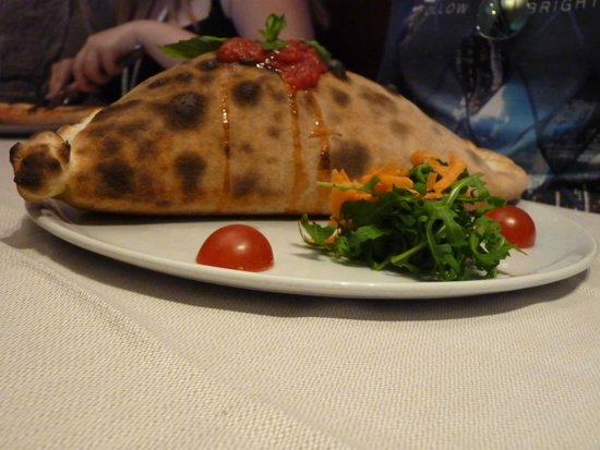 Ristorante Gran Viale: Oder the Calzone if you are hungry