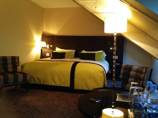 Grand Hotel La Cloche Dijon - MGallery Collection : Top floor room