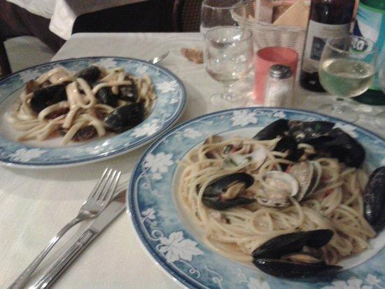 Tico Tico: Scialatielli/Spaghetti ai frutti di mare