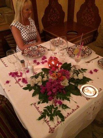 Alhambra Thalasso Hotel : moroccan dinner
