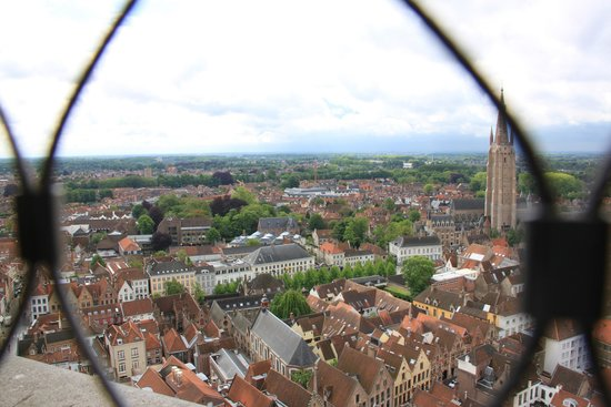 Grand-Place : Вид с ратуши на рыночной площади