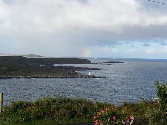 Clifden Bay Lodge: La vue