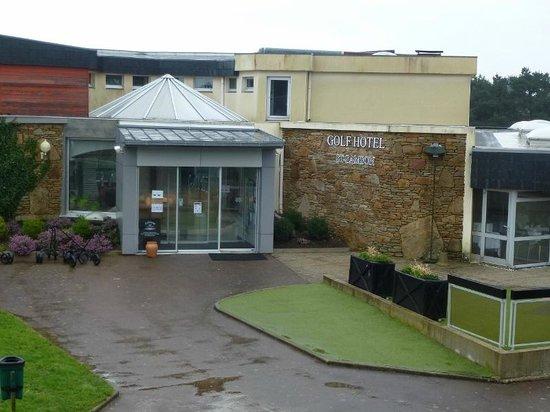 Golfhôtel de Saint-Samson : Pavillon restauration/boutique/salles de conférence