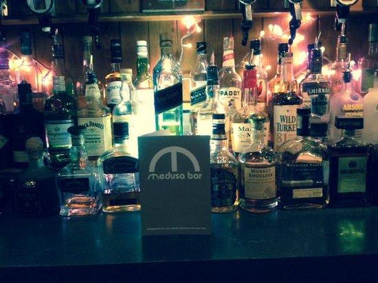 Medusa Bar: MENU AND A SELECTION OF DRINKS