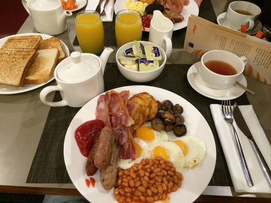 Novotel Birmingham Airport: Amazing breakfast!