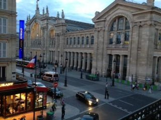 New Hotel Gare du Nord: photo from room 203