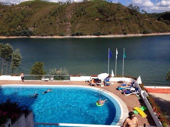 Estalagem Lago Azul: Vista restaurante