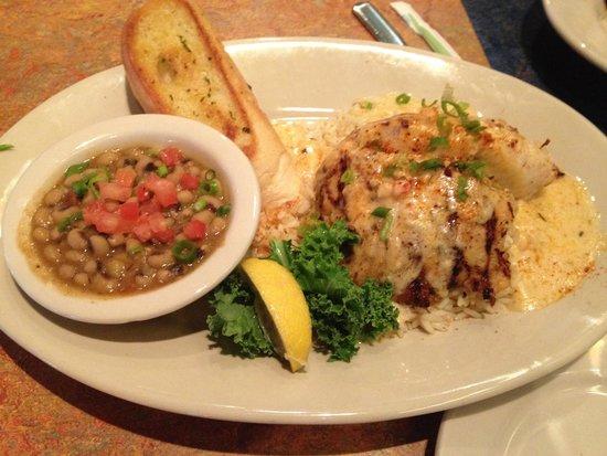 Razzoo's Cajun Cafe: Stuffed fish