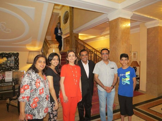Tajmahal : We are extremely delighted and feeling highly excited for serving food to richest Indian on eart