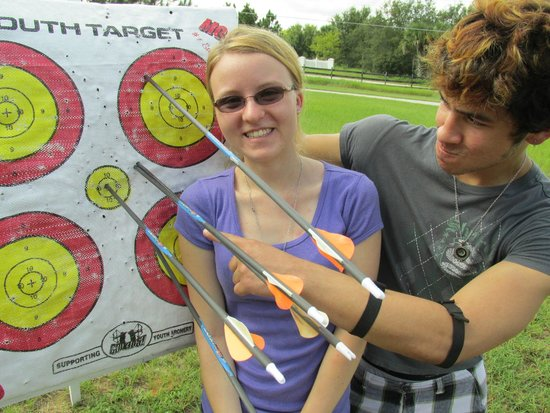 Joseph Steed's Archery: The couple who shoots together...