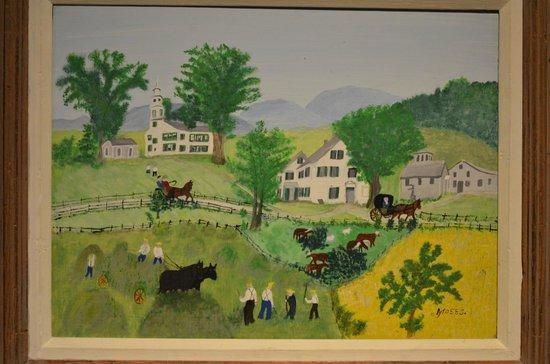 """Shelburne Museum: Grandma Moses  """"Haying"""""""