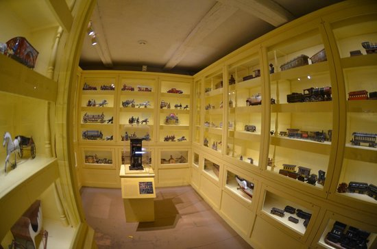 Shelburne Museum: Part of the toy exhibit