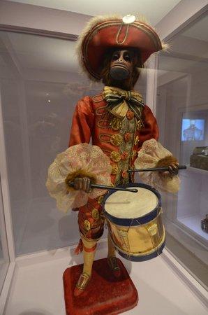 Shelburne Museum: An Automaton Uniformed Monkey