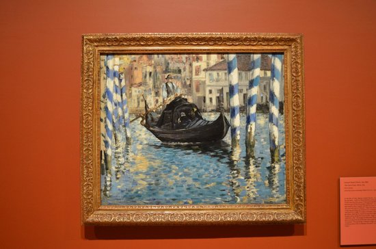 Shelburne Museum: Manet's painting of the Venice Grand Canal