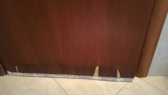 Antares Hotel: Porta