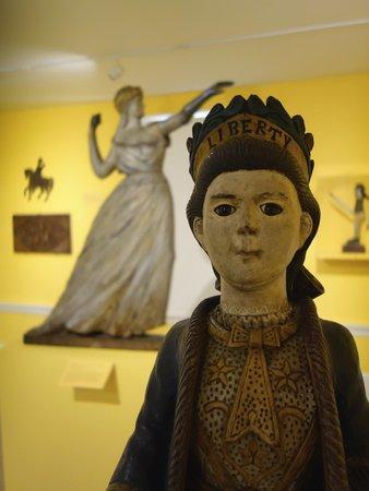 Shelburne Museum: In the folk art display