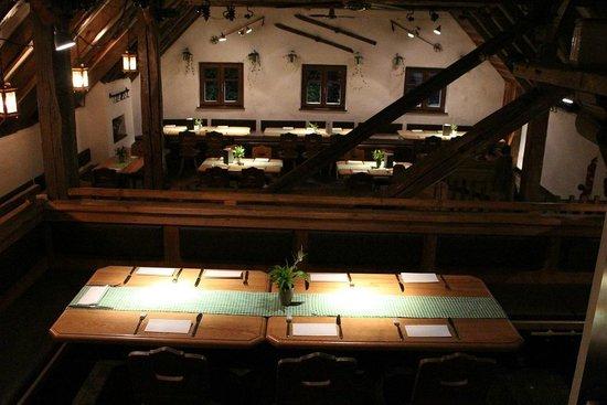 Fischerhaeusl : Obergeschoss für ca. 65 Personen
