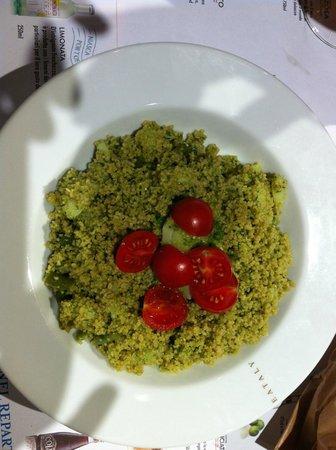 Eataly : cous cous al pesto con patate e fagiolini...(good)