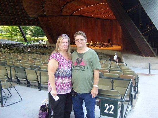 Blossom Music Center: Lisa & Charles at The Bloossom Music Center