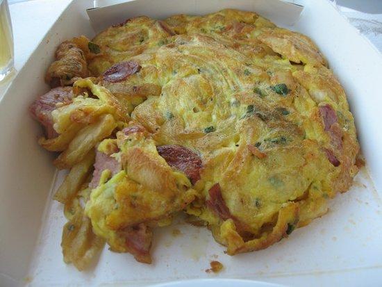 Deep Blue Cafe and Bistro: Φουρτάλια
