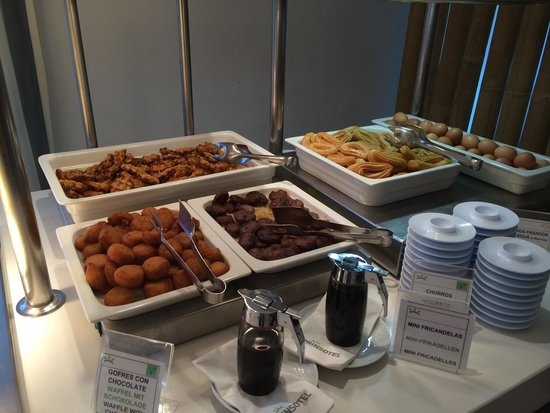Prinsotel Mal Pas: Frühstücksbüffet