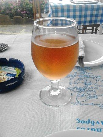 Deep Blue Cafe and Bistro: Το ντόπιο κρασάκι