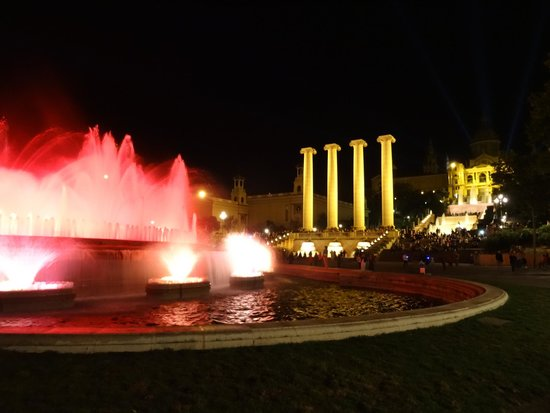 Excursions Barcelona : Magic Fountain