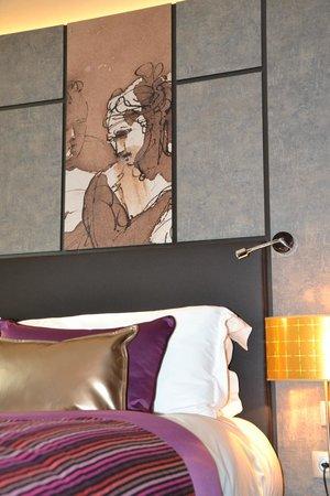Grand Hotel La Cloche Dijon - MGallery Collection : Chambre Classic