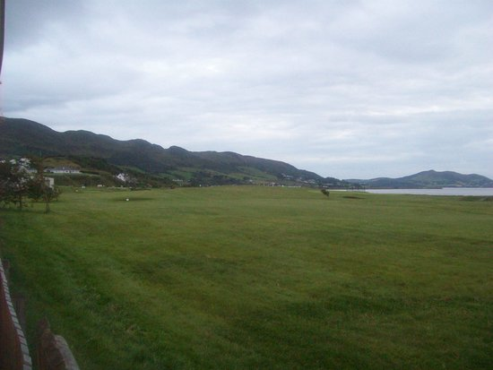 Inishowen Gateway Hotel: The view from the bar.