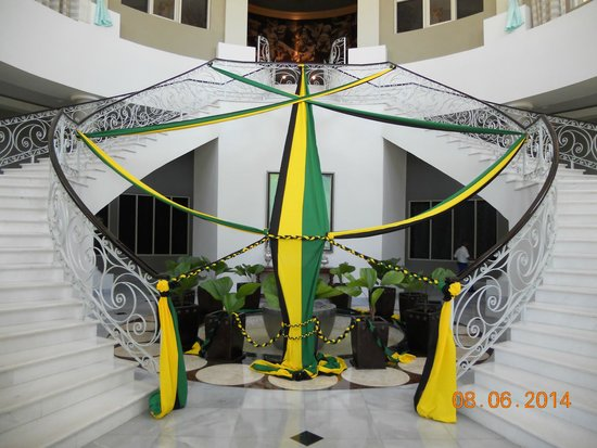 Iberostar Grand Hotel Rose Hall: Celebrating Jamaican Independance Day