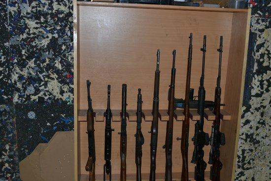 Celeritas Shooting Club: rifles
