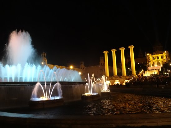 Excursions Barcelona : Magic of the night
