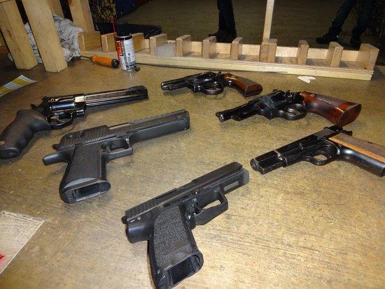 Celeritas Shooting Club: pistols