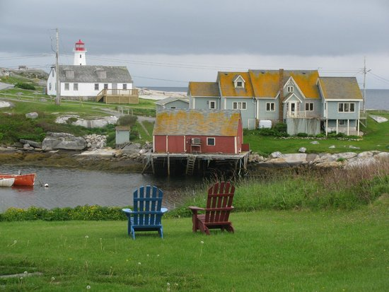 Peggy's Cove Bed & Breakfast : View from Peggy's Cove B&B room