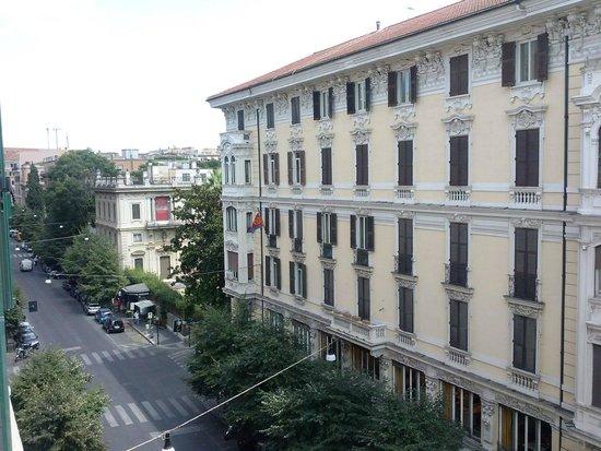 Hotel Romanico Palace: Vista desde la habitacion