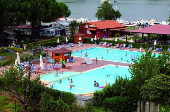 Camping River : piscine