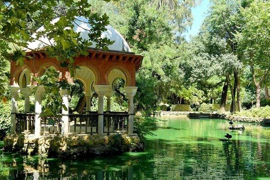 Place d'Espagne : Parque de Maria Luisa