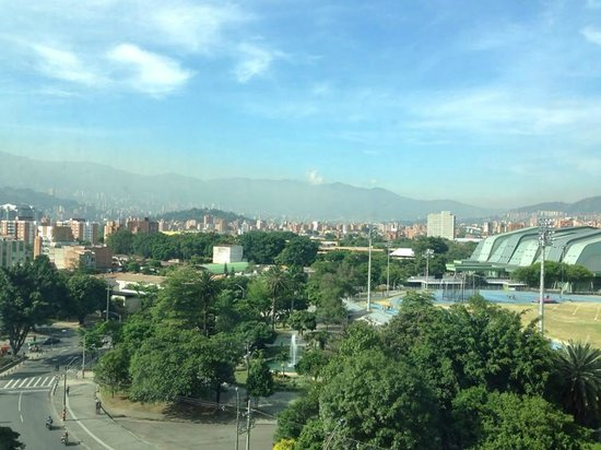 Tryp Medellin: View of the city from our room