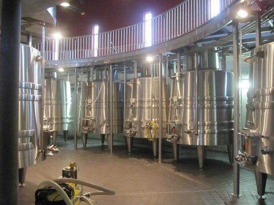 Château Luchey-Halde : Цистерны для вина