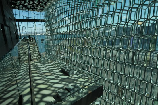 Harpa Reykjavik Concert Hall and Conference Centre: Harpa inside 2